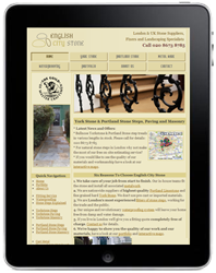 Tablet Website
