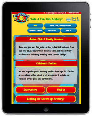 Tablet Website 1
